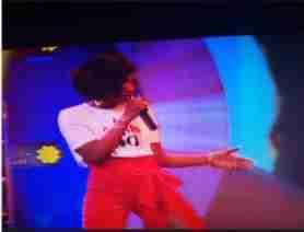 BBnaija: Simi Performs At BBNaija Live Eviction Show (Photos)